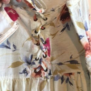 Pins & Needles Pants - Floral romper